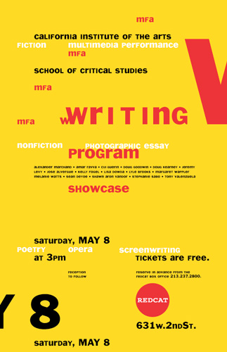 CalArts Writing Showcase